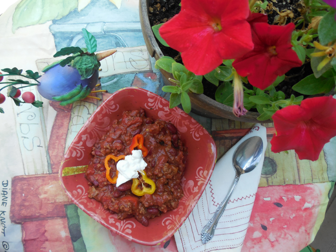 Yummy Potluck Cola Chili